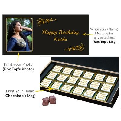 Customized Chocolate Birthday Gifts 18 Pcs  1 Birthday Gift 18C 2