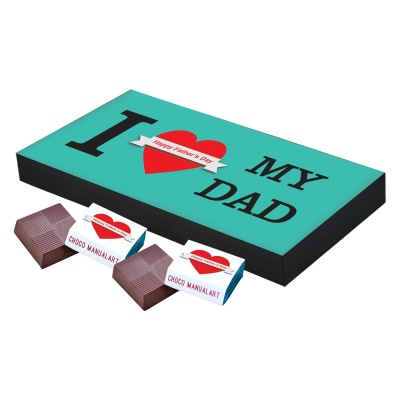 Thoughtful Fathers Day Gift  18pcs  Thoughtful Unique Fathers Day Chocolate Box Gifts