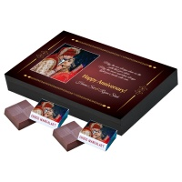 Printed Chocolate for Anniversary  12pcs  2 Anniversary 12A 2