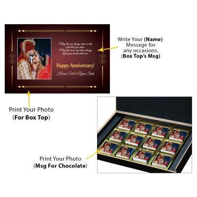 Printed Chocolate for Anniversary  12pcs  2 Anniversary 12C 1