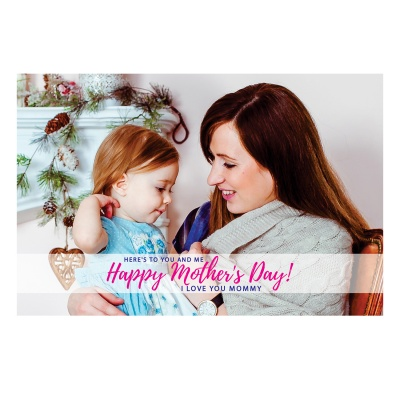 Personalized Mothers Day with Photograph Name and Message chocolate box  12 Pcs  2 Mothes 12D