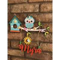 door name plates for cute kids room hand made hitchki dot in 0004