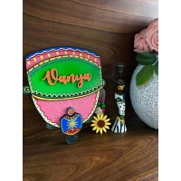 Buy Customized Wooden Nameplate Online In India Engraved nameplate door name plates for cute kids room hand made hitchki dot in 0010
