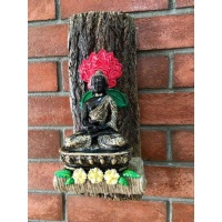 Seven Chakra Buddha Key Holder  key holders hangers hand made hitchki dot in personalized gifts 0016