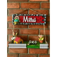 wooden name plates house office door wall flat bungalow plaques hand made