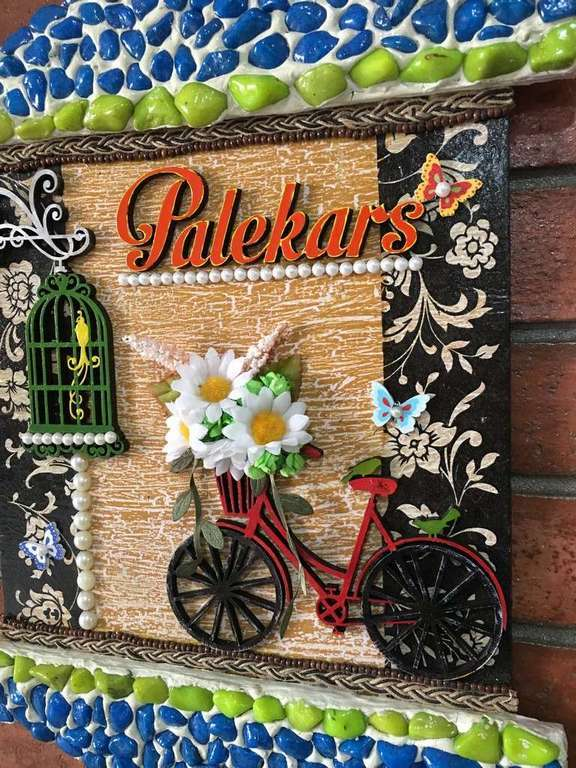 Beauty Of Spring Wooden Name Plate for Door  wooden name plates house office door wall flat bungalow plaques hand made hitchki dot in personalized gifts 0066