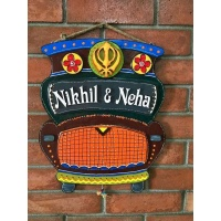 wooden name plates house office door wall flat bungalow plaques hand made hitchki dot in personalized gifts 0082