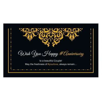 Gift for New Anniversary Occasion  6pcs  3 Anniversary 6D