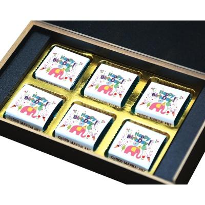 Chocolate Birthday Gifts for Baby Boy Girl Kids 6 Pcs  3 Birthday Gift 6B