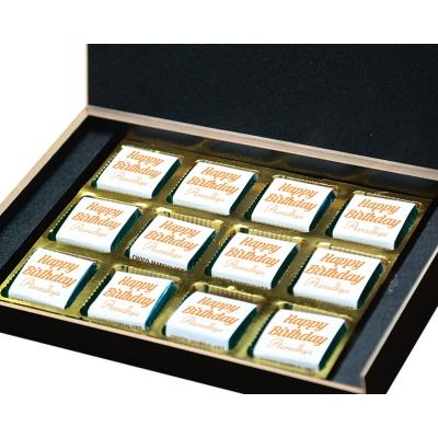 Chocolate Birthday Gift for Mom and Dad 12 Pcs  4 Birthday Gift 12B