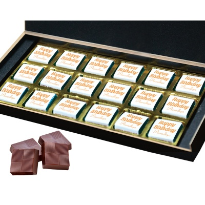 Happy Birthday Gift for Mother Father Brother Sister and Loved Chocolate Box 18 Pcs  4 Birthday Gift 18B