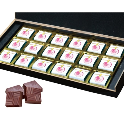 Personalized Mothers chocolate box  18 Pcs  4 Mothes 18B