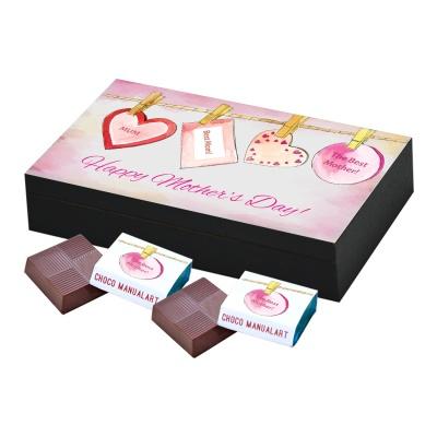 Personalized Mothers chocolate box  6 Pcs  Best Personalized Mothers Day Chocolate Box Gifts