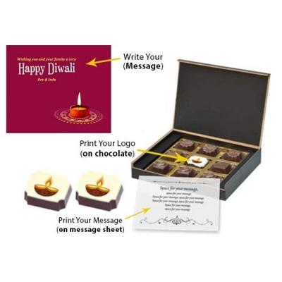 Diwali Festival Chocolate Gift Box  9 Pcs  41KkWEd6HpL