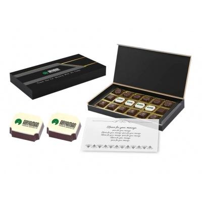 Personalized Chocolate Gift Box  18 Pcs  Personalized Printed Chocolate Gift Box