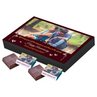 Customized Chocolate Anniversary Gift for Couples