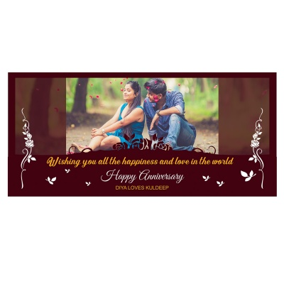 Anniversary Gift with Photo Message and Name Print on Them  18pcs  5 Anniversary 18D