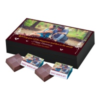 Chocolate Gift for Anniversary with photographs