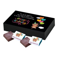 Chocolate Birthday Gift box for Your Girlfriend 6 Pcs  5 Birthday Gift 6A