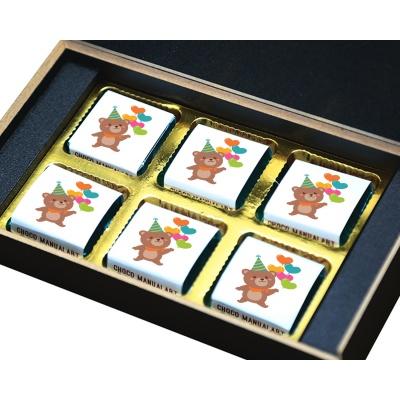Chocolate Birthday Gift box for Your Girlfriend 6 Pcs  5 Birthday Gift 6B
