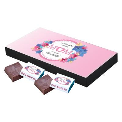 Personalized Mothers chocolate box  18 Pcs  Personalized Mothers Day Chocolate Box of Gift