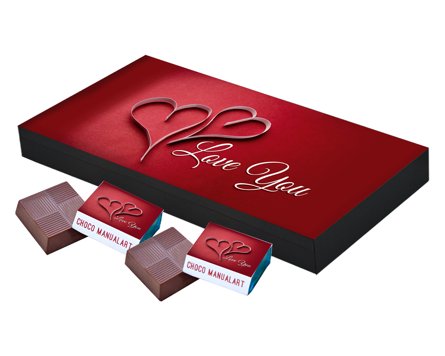 Valentines Day and I You Love Chocolates Gift  18pcs  Valentines Day Special Love Chocolate Boxes Gifts