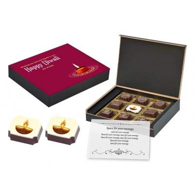 Diwali Festival Chocolate Gift Box 9 Pcs  Buy Diwali Festival Chocolate Gift Box