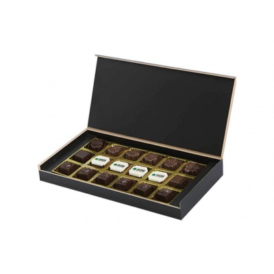 Personalized Chocolate Gift Box  18 Pcs  Chocolate Gift Box For Business