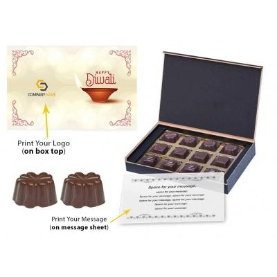 Diwali Festival Chocolate Gift Box  12 Pcs  Chocolate Gift Boxes