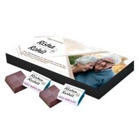 Personalized Wooden Chocolate Box With Photos