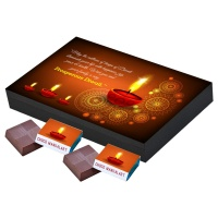 Personalized Chocolate gift for Diwali