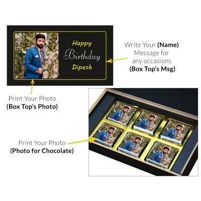 Birthday Gift | 6pcs Chocolates Box  8 Birthday Gift 6C