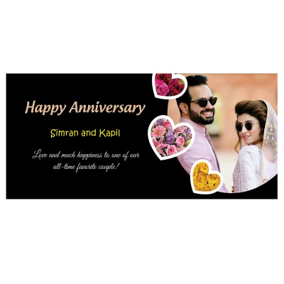 Personalised Marriage Anniversary Printed Gift  18pcs  9 Anniversary 18D