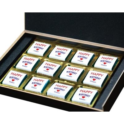 Handmade Chocolate Birthday Gift Boxes 12 Pcs  9 Birthday Gift 12B