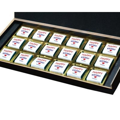 Customized chocolate Birthday Gift Box 18 Pcs  9 Birthday Gift 18B