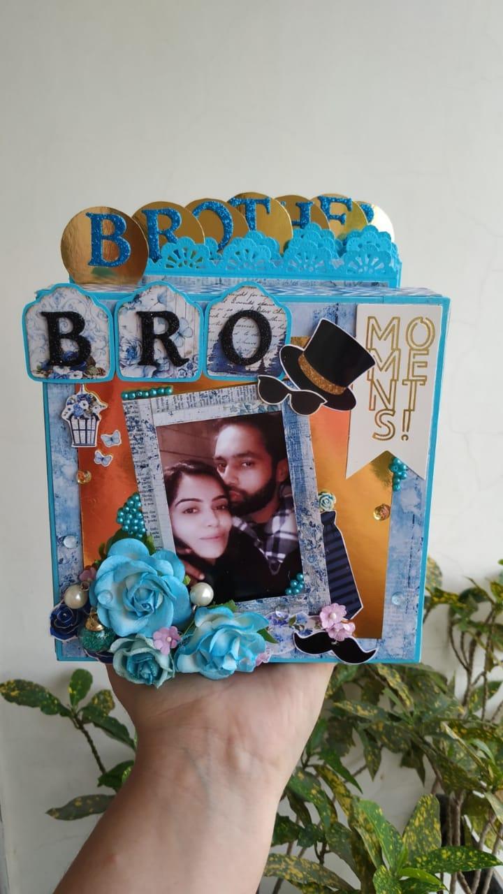 Accordion Tag Box Album  Brother Theme  Accordion tag box album  Brother theme1