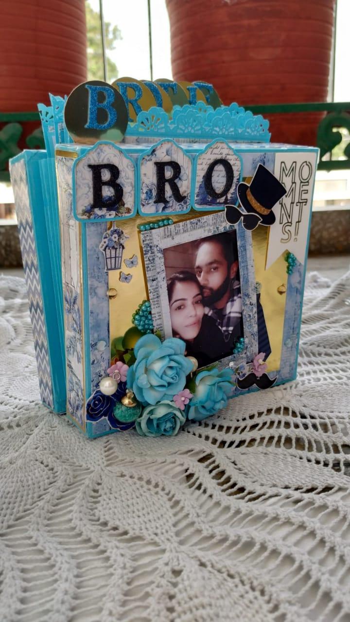 Accordion Tag Box Album  Brother Theme  Accordion tag box album  Brother theme4