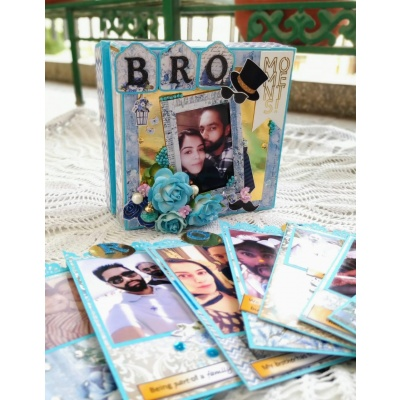 Accordion Tag Box Album  Brother Theme  Accordion tag box album  Brother theme5