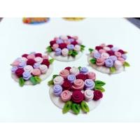 designer flower rakhi