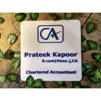 Chartered Accountant Weatherproof Name Plate