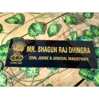Civil Judge Name Plate - UV Print - Double Layer Protection