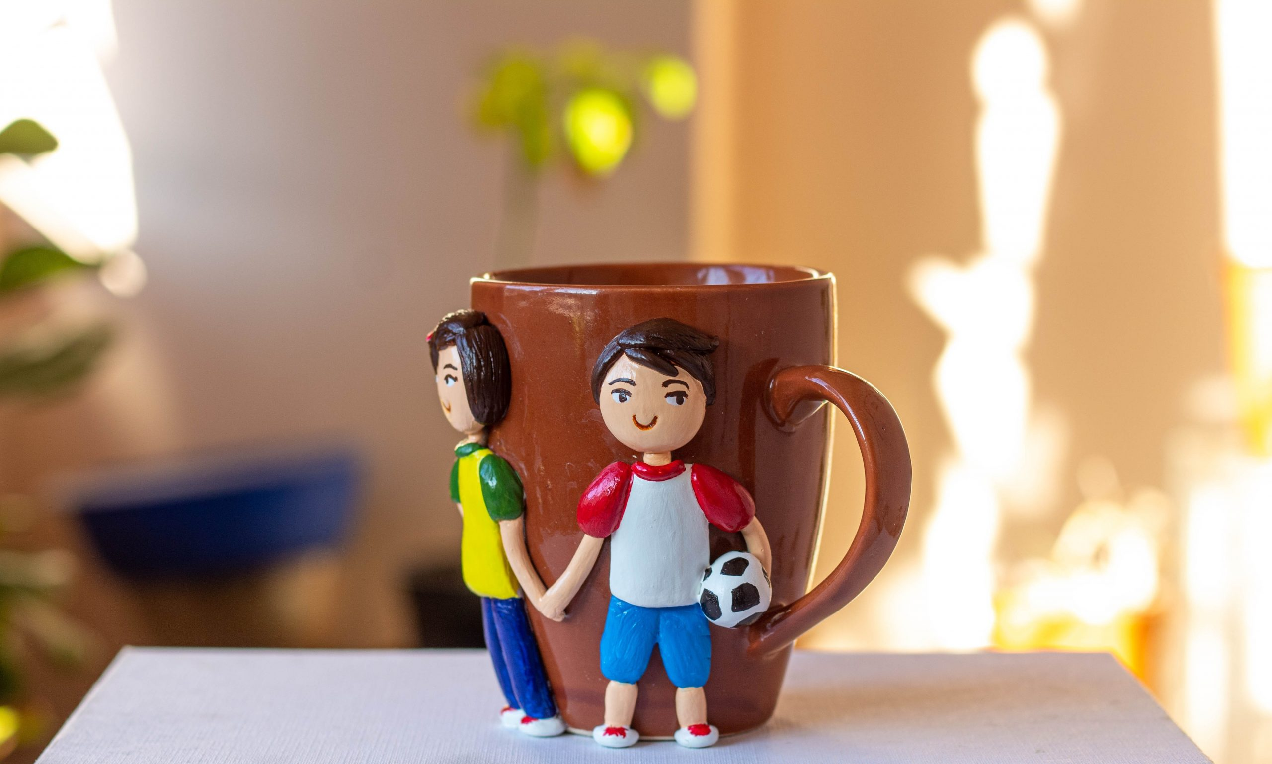 Decorative Coffee MugBrother Sister  Creative Corner Artwork Hitchki 2 1