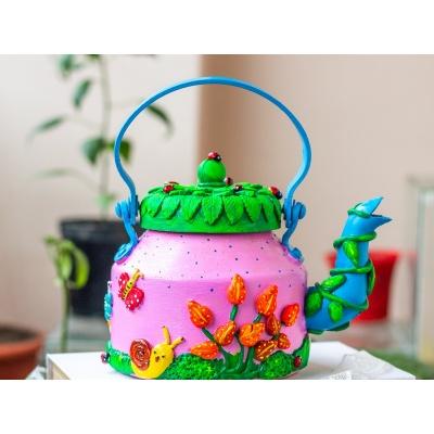 Creative Corner Fairy Themed Teapot  Creative Corner Hitchki Unique Wooden Artworks 0001 3 1