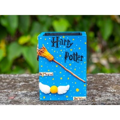 Creative Corner Harry Potter themed Pen Holder  Creative Corner Hitchki Unique Wooden Artworks 0001 6 3