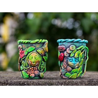 Creative Corner Tea Light Candle Holder  Creative Corner Hitchki Unique Wooden Artworks 0001 7