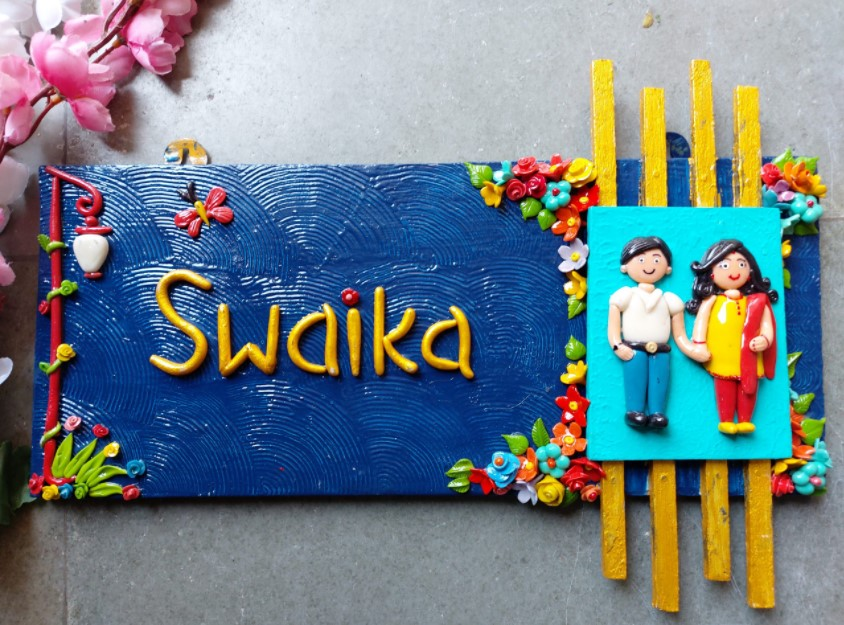Customize Couple Nameplate For House  Customize Couple Nameplate For House