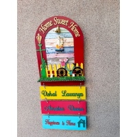 Customized Arch nameplate