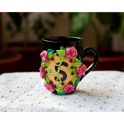 Creative Corner Decorative Floral Coffee Mug  Decorative Coffee Mug