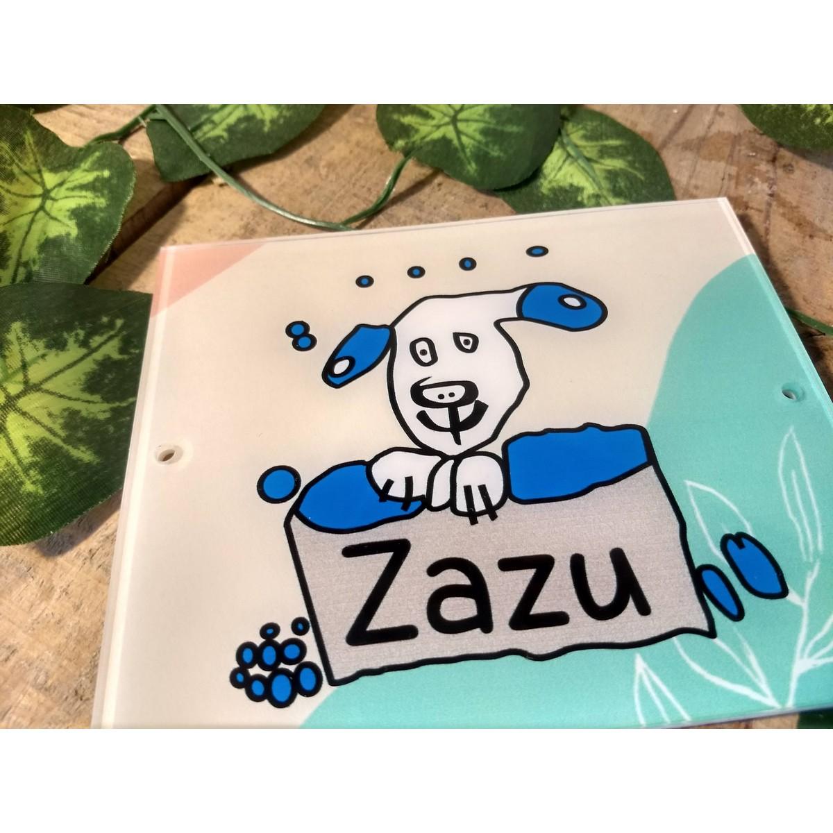 Dog Name Plate  UV Printed  Double Protection  Dog Name Plate 2