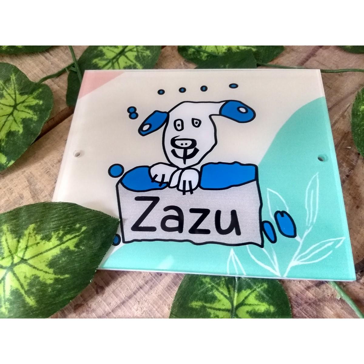 Dog Name Plate  UV Printed  Double Protection  Dog Name Plate 3